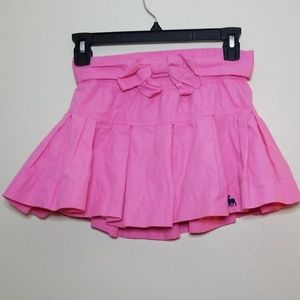 Abercrombie Kids Pink Ruffle Skirt